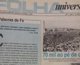 A missão da Folha Universal